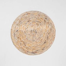 Water Hyacinth White Washed Charger - Threshold™   Target