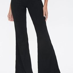 Ribbed Knit Flare Pants | Forever 21 (US)