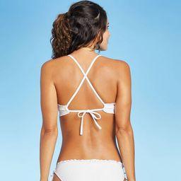 Juniors' Eyelet Bralette Bikini Top - Xhilaration™ White | Target