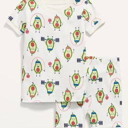 Unisex Printed Short-Sleeve Pajama Set for Toddler & Baby   Old Navy (US)