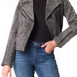 Vital Signs Suede Moto Jacket | Nordstrom