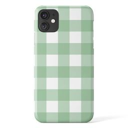 Large Gingham iPhone Case - Google Pixel Shell - Samsung Galaxy Cover - Trendy - Tough Protective...   Etsy (US)