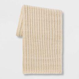 Chunky Knit Throw Blanket - Threshold™ | Target