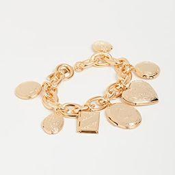 Gold Charm Bracelet | Shopbop