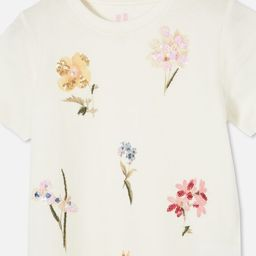 Stevie Short Sleeve Embellished Tee | Cotton On (AU)