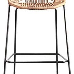 CHAIR Chair Bar,Cafe,Restaurant Chair,Barstools Rattan Wicker Chair for Kitchen Pub Cafe Breakfas... | Amazon (UK)