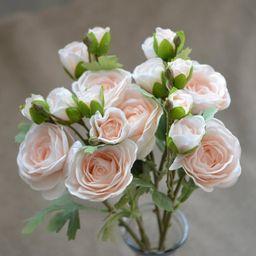 Peach Ranunculus, Real Touch Silk Ranunculus DIY Wedding Flowers Silk Bridal Bouquets Wedding Cen...   Etsy (UK)