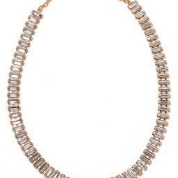 Shay Baguette Crystal Necklace   Nordstrom