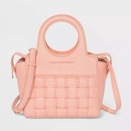 Zip Closure Satchel Handbag - A New Day™ | Target
