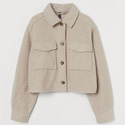 Crop Shirt Jacket | H&M (US)