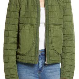 Quilted Zip Jacket | Nordstrom
