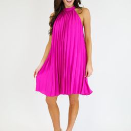 THE PLEATED PENNY DRESS   Judith March