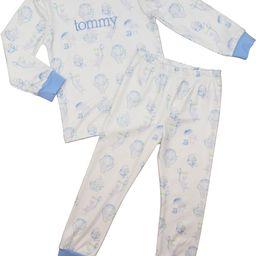 Blue Whimsical Bunny Pajamas   Cecil and Lou