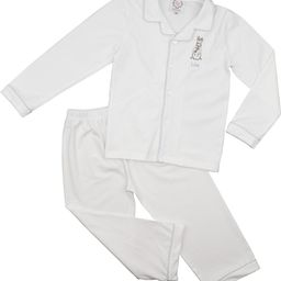 White Knit Pajamas   Cecil and Lou