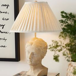 Grecian Bust Table Lamp   Anthropologie   Anthropologie (US)