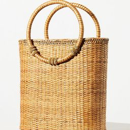 Bamboo Ring Handle Clutch | Anthropologie (US)