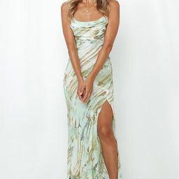 Full Time Glam Girl Midi Dress Mint | Hello Molly