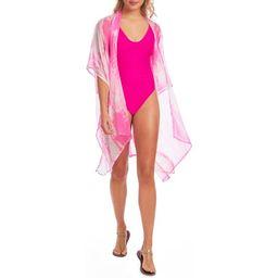 Cyn & Luca Juniors' Tie Dye Kimono Swimsuit Cover up | Walmart (US)