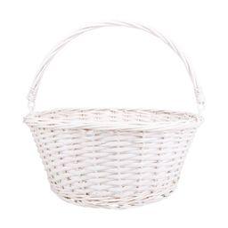 "14.5"" Willow Easter Basket White - Spritz™   Target"