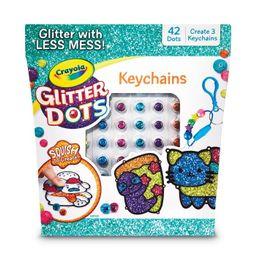 Crayola 72pc Glitter Dots Keychains Craft Set   Target