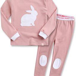 VAENAIT BABY Kids Toddler Junior Girls Flower Rabbit Easter Sleepwear Pajamas 2 Set   Amazon (US)