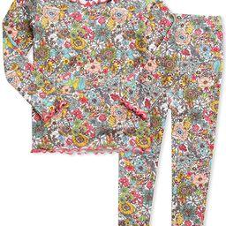 VAENAIT BABY 12M-7T Kids Unisex Girls & Boys Soft Comfy Modal Tencel Shirring Sleepwear Pajamas 2...   Amazon (US)