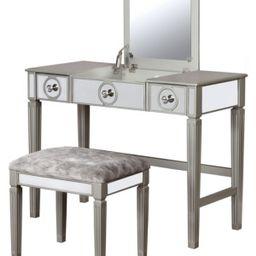 Madison Vanity Set with Bench and Mirror | Macys (US)