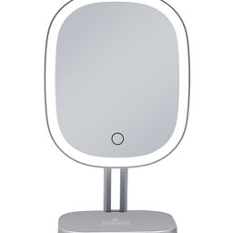 Impressions Vanity Co. Makeup Mirrors silver - Silvertone Touch Highlight LED Makeup Mirror | Zulily