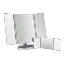 Impressions Vanity Co. Makeup Mirrors Silver - Silver Touch & Go Makeup Mirror Set | Zulily