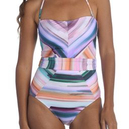 Ocean Tides Bandeau One-Piece Swimsuit | Nordstrom