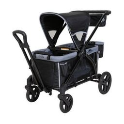 Baby Trend® Muv® Expedition® 2-in-1 Double Stroller Wagon PRO in Black   buybuy BABY   buybuy BABY