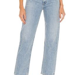 AGOLDE Lettuce Waistband Reworked High Rise Fitted 90s in Revival from Revolve.com   Revolve Clothing (Global)