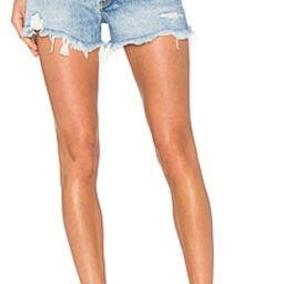 AGOLDE Parker Vintage Cut Off Short in Swapmeet from Revolve.com   Revolve Clothing (Global)