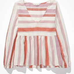 AE Babydoll Tunic Top | American Eagle Outfitters (US & CA)