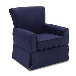 Delta Children Benbridge Glider Swivel Rocker Chair, Navy | Amazon (US)