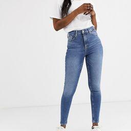 Topshop Jamie skinny jeans in mid wash | ASOS (Global)