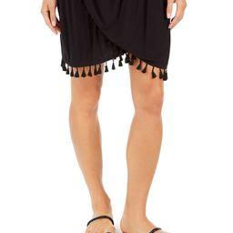Resort Tassel-Trim Dress Cover-Up | Macys (US)