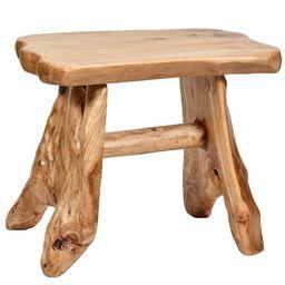 WELLAND Cedar Wood Stool, End Table, Side Table | Walmart (US)