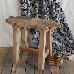 AREOhome Indo Salvaged Wood Stool | Walmart (US)