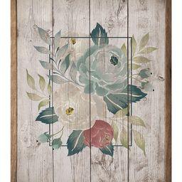Kendrick Home Framed Wall Art - Brown & Green Floral Wall Art | Zulily
