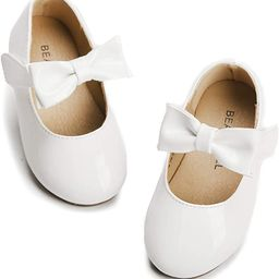 Toddler Little Girl Mary Jane Dress Shoes Party School Shoes | Amazon (US)