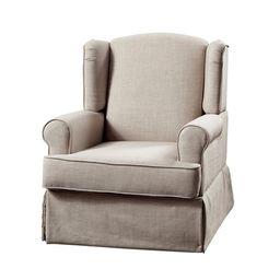 Furniture of America Keal Transitional Glider Rocker Chair | Walmart (US)