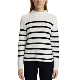 Breton Striped Cotton Jumper with Crew Neck and Long Sleeves | La Redoute (UK)