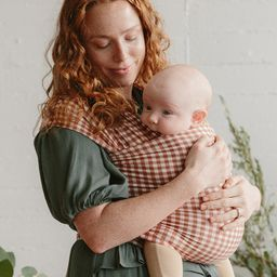 WRAP - Ginger Check   Solly Baby