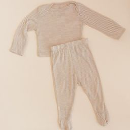 SLEEPER - Neutral Stripe   Solly Baby