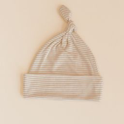KNOTTED HAT - Neutral Stripe   Solly Baby