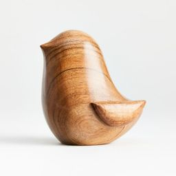 Small Wooden Chick + Reviews | Crate and Barrel | Crate & Barrel