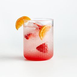 Liv Acrylic Drink Glass + Reviews | Crate and Barrel | Crate & Barrel