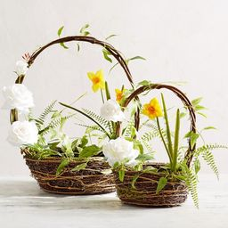 Faux Garden Easter Baskets | Pottery Barn (US)