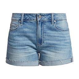 Jimmy Jimmy Relax-Fit Raw Cuff Denim Shorts   Saks Fifth Avenue